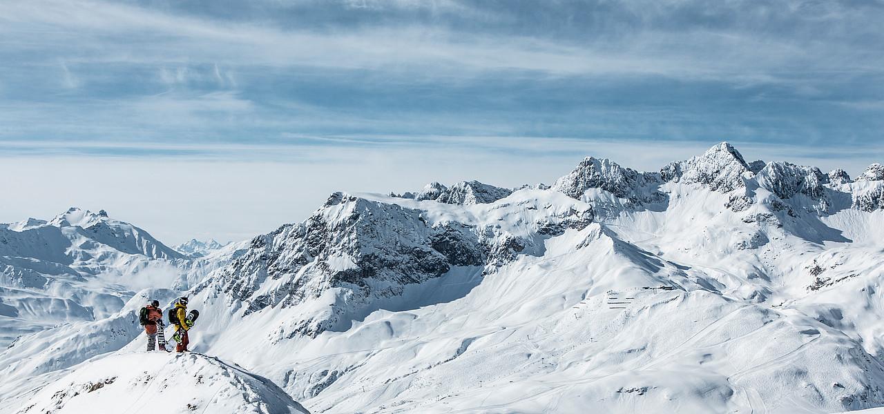 The Arlberg Area
